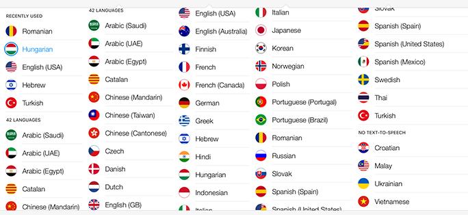 limbi disponibile